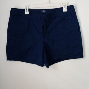 St Johns bay navy blue shorts